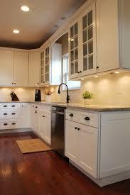 ice white shaker kitchen kitchen remodel powell ice white shaker kitchen cabinets columbus oh semro designs 14