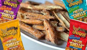 unique pretzel shells where to buy unique pretzels flavor shocked honey mustard pretzel