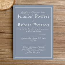 simple wedding invitations modern dusty blue simple wedding invitations ewi384 as low as 0 94
