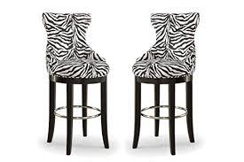 zebra print chair amazon com