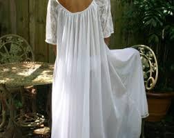 Wedding Sleepwear Bride Grecian Goddess Bridal Nightgown Wedding Lingerie White Nylon
