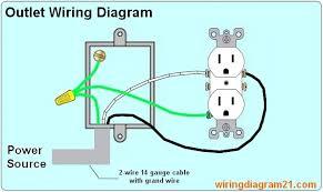 electric plug wiring diagram