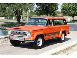 1960 jeep wagoneer classic jeep cherokee for sale on classiccars com