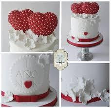 131 best love valentines fondant cakes images on pinterest