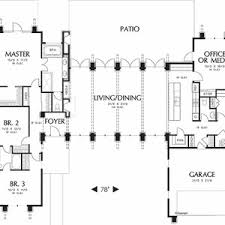 open floor plans for ranch style homes mid century ranch house plans modern style design exteriors doors