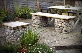 Garden Bench Ideas New Ideas Outdoor Garden Bench With Iron Pertaining To