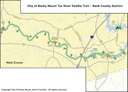Yellow River Map Trails City Of Rocky Mount