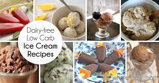 dairy free low carb ice cream recipes vegan ice cream