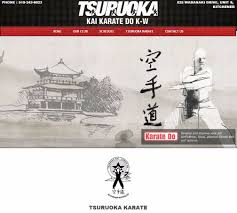 new kw congrats on your new site tsuruoka kai karate do k w web design