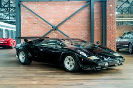 classic lamborghini countach 1980 lamborghini countach lp400s richmonds classic and