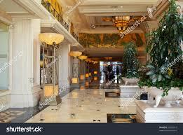 beautiful big foyer luxury expensive hotel stock photo 25507612