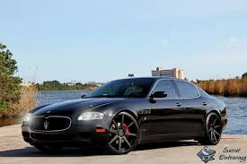 maserati quattroporte matte black a black u0026 white maserati love affair secret entourage