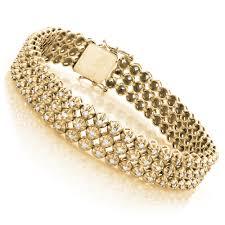 golden diamond bracelet images Mens 10k gold bracelet jpg