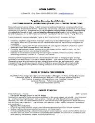 resume call center sample fascinating customer service resume