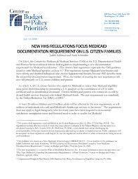 new hhs regulations focus medicaid documentation requirement on