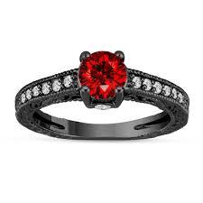 Black Gold Wedding Rings by Jewelry By Garo Handmade Fine Jewelry In Nyc Diamond Rings