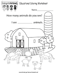 coloring pages kindergarten color words worksheet kindergarten