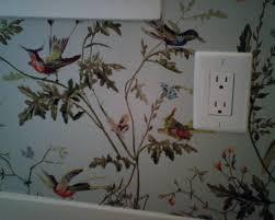 Natural Home Decor Modern Elegant Interior With Home Decor Wallpaper Bird Motifs Can
