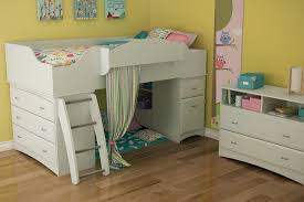 Loft Beds With Futon And Desk Bedroom Give Your Child The Ultimate Room With Cute Lofted Bed