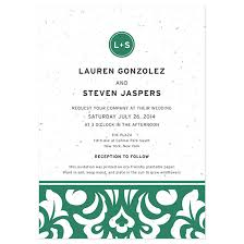 damask wedding invitations plantable modern damask wedding invitation plantable wedding