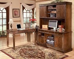 Computer Desk With Hutch by Buy Hamlyn Medium Brown Credenza Desk With Hutch By Millennium