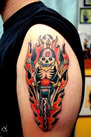 bike related tattoos let u0027s see u0027em