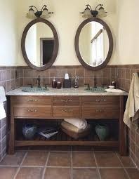 furniture style bathroom vanity made from stock cabinets part 1