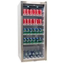 small beer fridge glass door beverage refrigerators beverage refrigerator reviews kegerator com