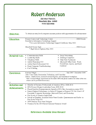 example of resume format for student entry level resume samples for high school students free resume good examples of resumes for highschool students sample student resumes examples of cover letters
