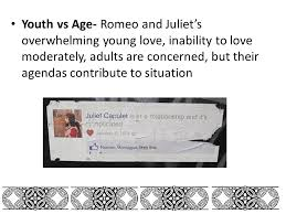 themes of youth in romeo and juliet themes symbols and motifs ppt video online download