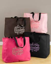 bridesmaids bags embroidered tote bags all fashion bags