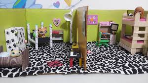 How To Make Doll Kitchen How To Make Lps Dollhouse Bedrooms Doll Diy Youtube