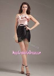 graduations dresses and black ruffled strapless graduation dresses for high school