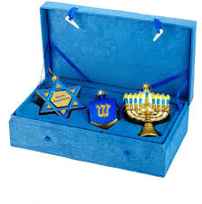 hanukkah ornaments hanukkah home decor gifts popsugar home