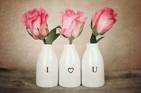 Heart Home Decor I Love You Fine Art Photography Shabby Chic Rose Pink