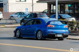 blue mitsubishi lancer mitsubishi lancer evolution x 20 september 2016 autogespot