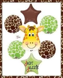 giraffe baby shower inspiration board themed baby showers