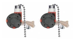Hampton Bay Ceiling Fan Internal Wiring Diagram by Amazon Com Satco 3 Speed Ceiling Fan Switch Nickel 801983 1