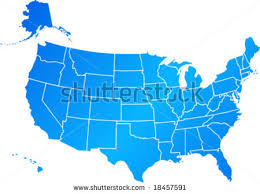map usa all states united states map vector free vector stock