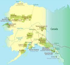 denali national park map other national parks in alaska
