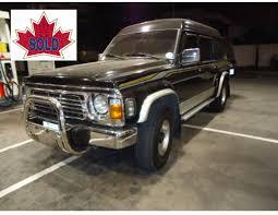 nissan safari 1997 nissan safari 5spd 124 000 kilometers amazing auto imports