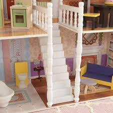 How To Make Dollhouse Furniture Out Of Household Items Amazon Com Kidkraft Savannah Dollhouse With Furniture Toys U0026 Games