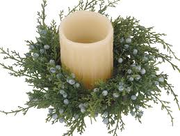 oregon juniper candle ring 10 wreaths candle rings