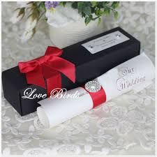 Red And Black Wedding Invitations Card Rates Picture More Detailed Picture About New Coming