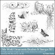 olde world ornaments brushes and sts no 01 pertiet