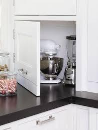 Kitchen Storage Cabinet Mixer Kitchen Appliance Storage Cabinet A Mixer Or Other Heavy