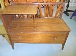 Antique Telephone Bench Telephone Tables With Storage Hollywood Thing