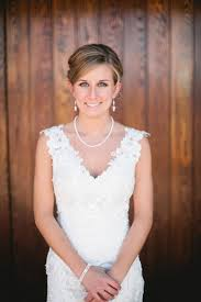 wedding dress necklace day of the wedding look weddingbee photo gallery