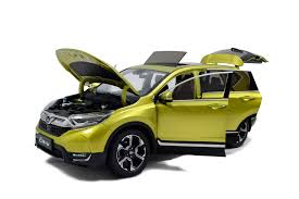 honda crv car honda cr v 2017 1 18 scale diecast model car
