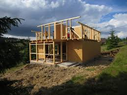 what is an a frame house wood frame house construction from start to finish time lapse